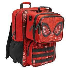 Pack Mochila Y Lonchera Spiderman