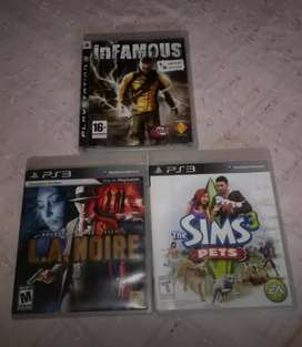 Vendo o cambio video juegos PS3