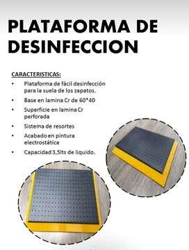 PLATAFORMA DE DESINFECCION
