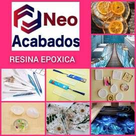 RESINA EPOXICA Y MOLDES DE SILICONA