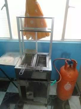Carrito para fritos pipeta nueva laminadora para masa 180.000