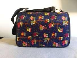 Maleta, mochila, cargador para llevar perros, mascotas