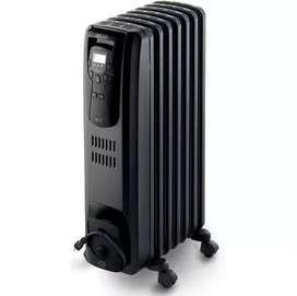 Calefactor Oleoeléctrico Negro 1500W Delonghi