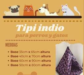 Tipis para gatos y perros