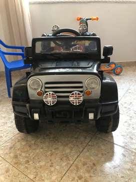 Jeep de batería