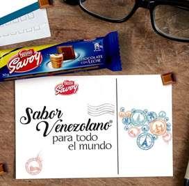 Chocolate savoy y galak
