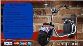 Scooter electrica tipo harley