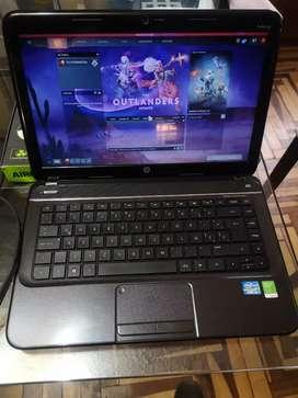 Laptop HP coreI5 6gb RAM + Cooler +