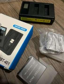 Baterias y cargador GoPro hero 5
