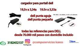 cargador  DELL  19,5v