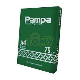 Resma de papel A4 - 75 grs - PAMPA