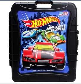 Maleta Hotweels Para 110 Carros No Incluye Carros