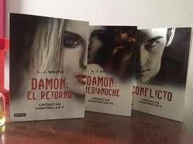 Crónicas vampiricas - set de 3 libros