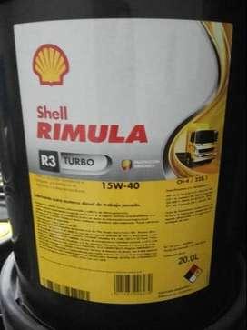 Lubricante Shell RIMULA R3 SCANIA ,VOLVO, MERCEDEZ, IVECO