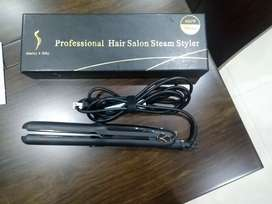 Plancha vapor argán professional hair salon steam styler