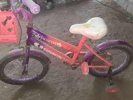 Bicicleta rosada para niña aro 16