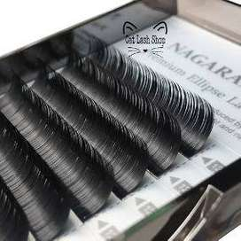 Pestañas pelo a pelo cajas surtidas