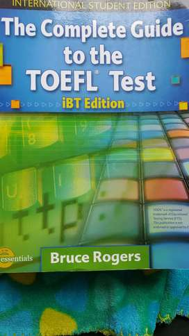 New TOEFL Test libro/book