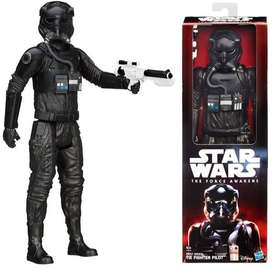 star wars TIE fighter pilot hasbro action figure