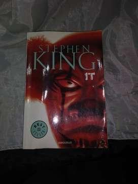 Libro novela IT Stephen King