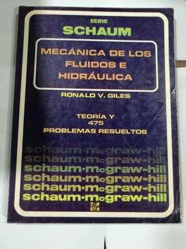 Mecánica de fluidos e hidráulica serie schaum mc graw Hill.