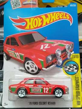 Hot Wheels 70 Ford Escort RS 1600