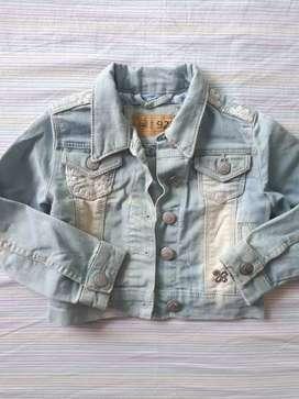 Chaqueta jeans niña 24meses