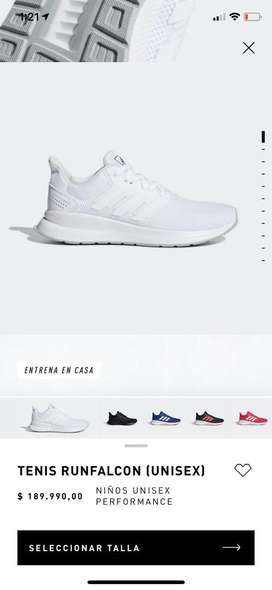 Zapatillas adidas Runfalcon originales nuevas