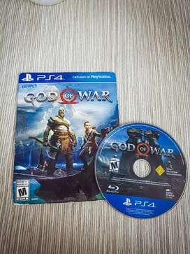 vendo god of war 4 fisico