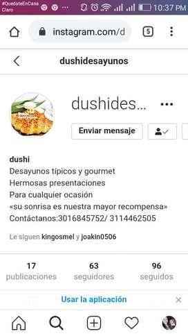 Dushi desayunos (desayunos sorpresas)