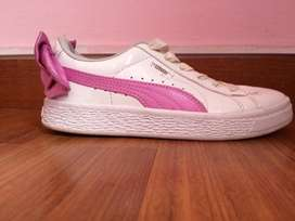 Zapatos niña puma lazo