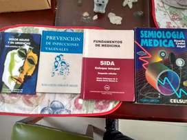 Semiología Médica, Ricardo Cediel, 4 Edición + 3 libros