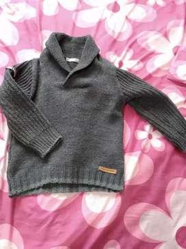 Pantalón y sweter cheeky talle 4