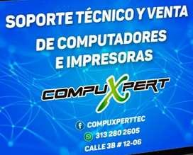 Compuxpert Mantenimiento de computadores e impresoras