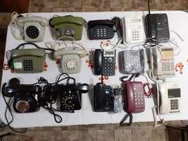 VENDO 15 TELEFONOS ANTIGUOS