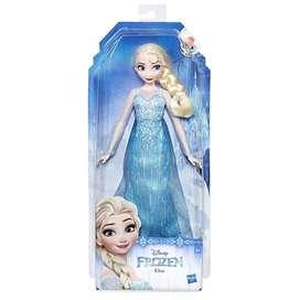 Disney Frozen Muñeca Elsa, Multicolor Hasbro Original