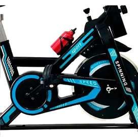Bicicleta estática TV spinning gimnasio aliptica ajustable Sport modelo 2021 envío gratis pagas al recibirla