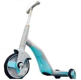 Patineta  scooter 3 en 1  monopatínTriciclo música niños