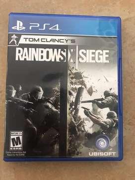 Tom clancy's Rainbow six siege ps4 usado