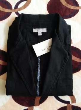Saco chaqueta Burberry Medium o Large fit Negra oferta