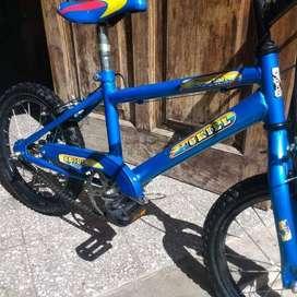 Bicicleta R16 muy buen estado