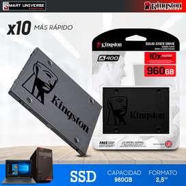 Disco Duro Solido Ssd Kingston 960gb Sata A400 III Laptop PC 2.5''