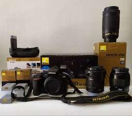 Ganga Hermosa Nikon D5600 como Nueva