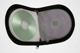 Porta cd goma para 12 unidades. NUEVO
