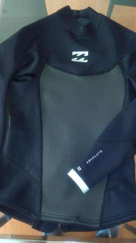 Billabong NEOPRENE Wetsuit Jacket Hombre MEDIUM