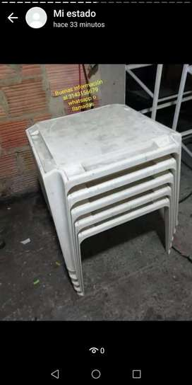 Mesas plásticas rimax