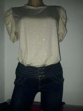 Jeans Y Blusa