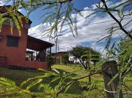 CABAÑS EN VILLA CARLOS PAZ PARA 6 PERSOMAS ZONA DE MONTAÑA. RIOS. MUCHA PAZ