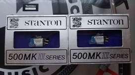 AGUJAS Y CARTUCHOS STANTON 500 MK2 NUEVOS EN CAJA