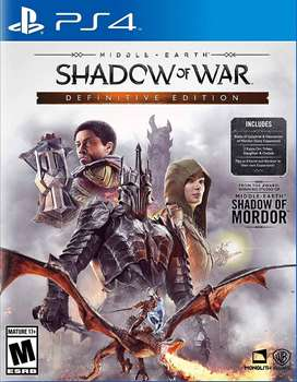 Middle-earth: Shadow Of War Definitive Edition Nuevo PS4